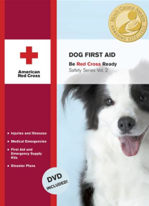 Dog first aid book